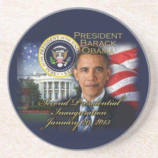 2da inauguración de presidente Obama Posavasos Diseño