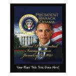 2da inauguración de presidente Obama Tarjetones