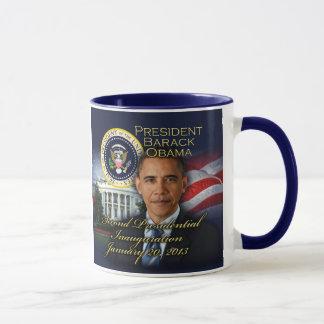 2da inauguración de presidente Obama Taza