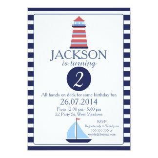 2da invitación del cumpleaños del faro náutico