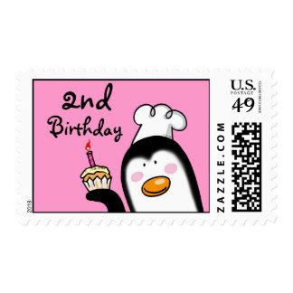 2da magdalena de la fiesta de cumpleaños (cocinero sellos