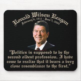 2da más vieja profesión de Reagan Alfombrillas De Ratón