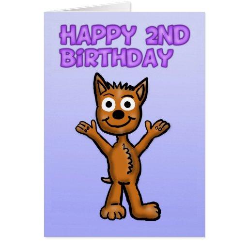 2da tarjeta de cumpleaños feliz