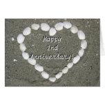 2da tarjeta de felicitación feliz del corazón del