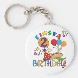 2das camisetas y regalos del cumpleaños de la fies llavero redondo tipo pin