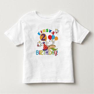 2das camisetas y regalos del cumpleaños de la playera de niño