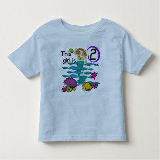 2das camisetas y regalos del cumpleaños de la polera