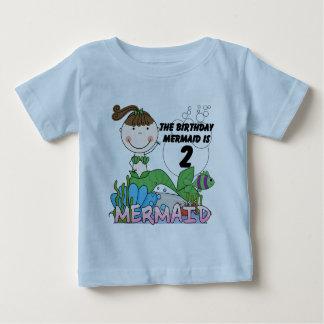 2das camisetas y regalos del cumpleaños de la poleras