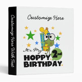 """2das camisetas y regalos del cumpleaños de la rana carpeta 1"""""""