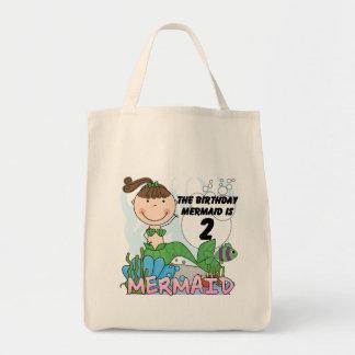 2das camisetas y regalos del cumpleaños de la sire bolsas lienzo