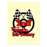 2das camisetas y regalos del cumpleaños de las car postales