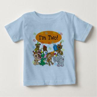 2das camisetas y regalos del cumpleaños de los