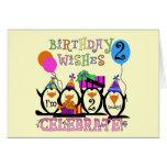 2das camisetas y regalos del cumpleaños de los pin felicitaciones