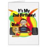 2das camisetas y regalos del cumpleaños del coche  felicitaciones
