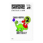 2das camisetas y regalos del cumpleaños del dinosa