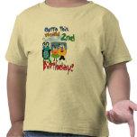 2das camisetas y regalos del cumpleaños del espaci