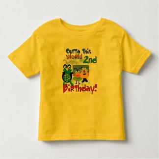 2das camisetas y regalos del cumpleaños del playeras