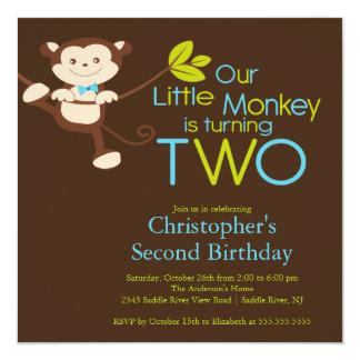 2das invitaciones de la fiesta de cumpleaños del comunicados