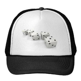 2diceinorderoffibonaccisequence trucker hat