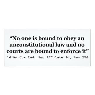 """2do 2.o Sec 256 del Sec 177 de la constitución 16 Invitación 4"""" X 9.25"""""""