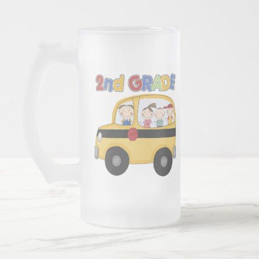 2do Autobús de escuela primaria Taza De Cristal