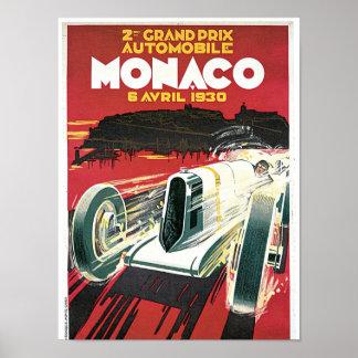 2do Automóvil de Mónaco de Grand Prix Impresiones