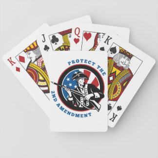 2do ¡Ayuda de la enmienda! Barajas De Cartas