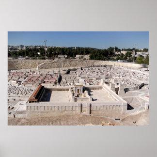 2do Beis HaMikdash (templo santo en Yerusalem) Póster