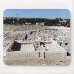 2do Beis HaMikdash (templo santo en Yerusalem) Alfombrillas De Ratón
