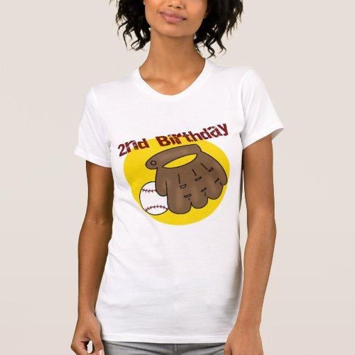 2do Béisbol del cumpleaños Camisetas