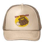 2do Béisbol del cumpleaños Gorras De Camionero