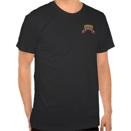 2do Bn del guardabosques, etiqueta, + Camisetas