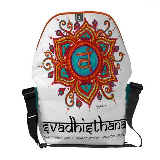 ¡2do bolso de Chakra Svadisthana de la yoga - pida Bolsas De Mensajeria
