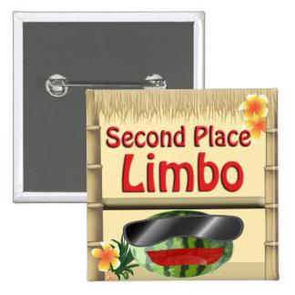 2do botón del limbo del lugar del fiesta de la