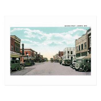 2do Calle, Laramie, Wyoming Postales