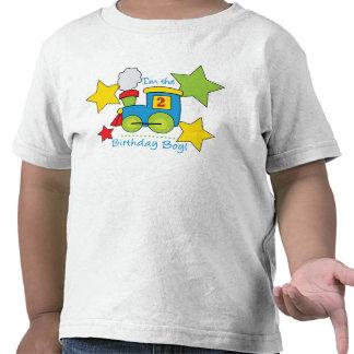 2do Camisa del tren del muchacho del cumpleaños