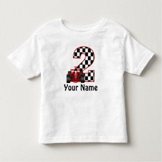 2do Camisa personalizada coche de carreras del