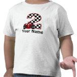 2do Camisa personalizada coche de carreras del cum