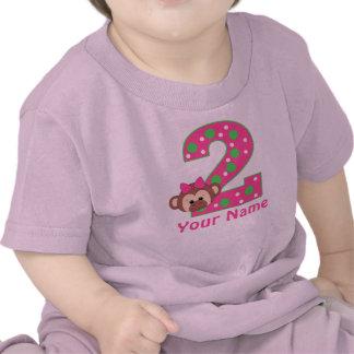 2do Camisa personalizada mono de los chicas del cu