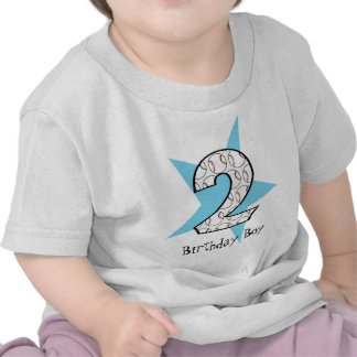 2do Camiseta azul de la estrella de béisbol del cu