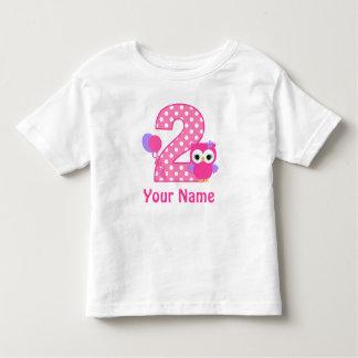 2do Camiseta personalizada búho del chica del