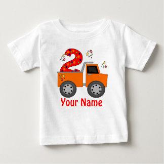2do Camiseta personalizada camión volquete del