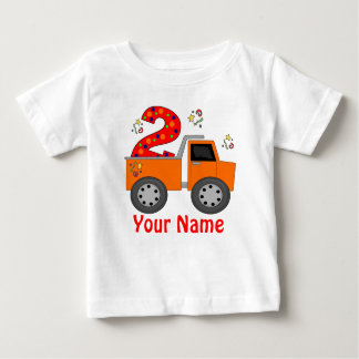 2do Camiseta personalizada camión volquete del Camisas