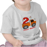 2do Camiseta personalizada camión volquete del cum