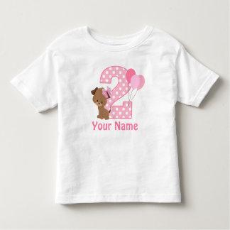 2do Camiseta personalizada perrito del chica del