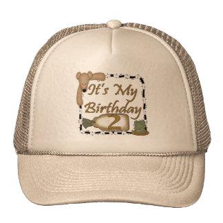 2do Celebración del cumpleaños Gorras De Camionero