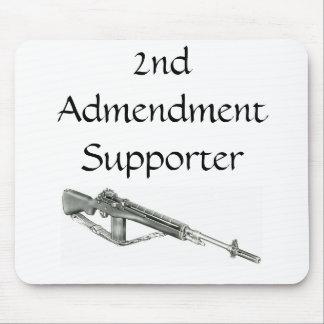 2do Cojín de ratón del partidario de la enmienda Alfombrilla De Raton