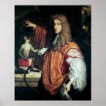 2do conde de Juan Wilmot de Rochester, c.1675 Impresiones