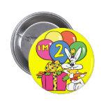 2do Conejo del cumpleaños Pin