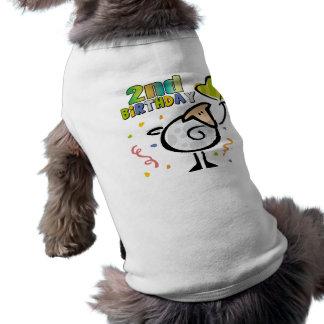 2do Cordero del cumpleaños Playera Sin Mangas Para Perro